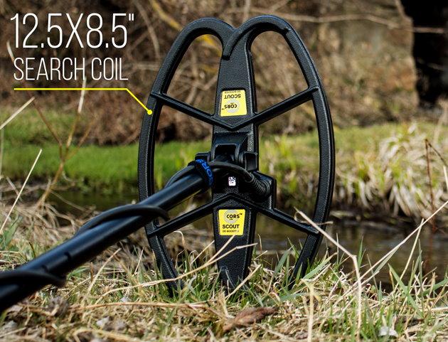 CORS Hochleistungsspule für XP GMaxx II - Adventis 2 - ADX 150 Metalldetektor