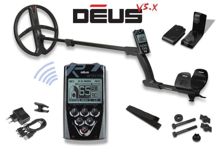 Metalldetektor XP DEUS X35 mit Display und 28cm Spule