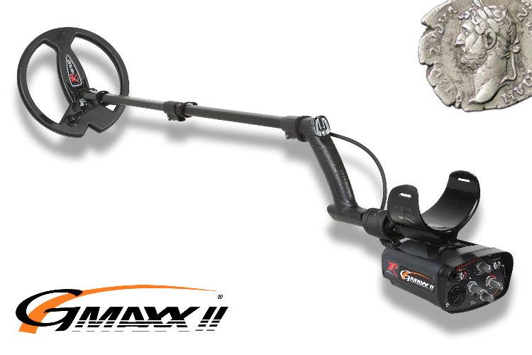 Metalldetektor XP G-MAXX II mit 22,5cm DD Spule