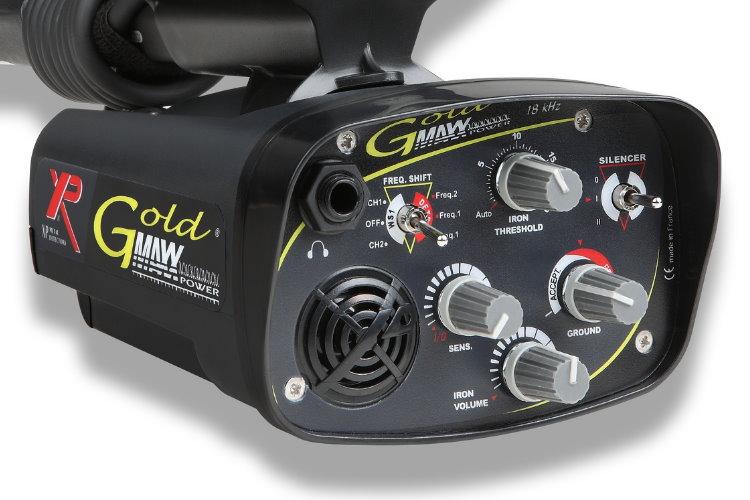 Metalldetektor XP GOLDMAXX POWER mit 27cm DD Spule